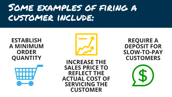 fire your customers to improve cash flow
