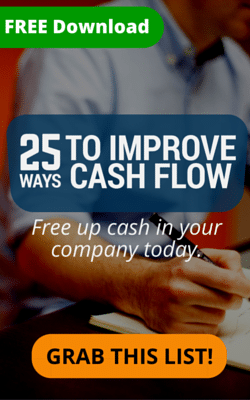 SCFO Lead Magnet Long Banner - 25 Ways to Improve Cash Flow - DOWNLOAD