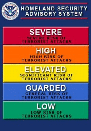 DHS warning system