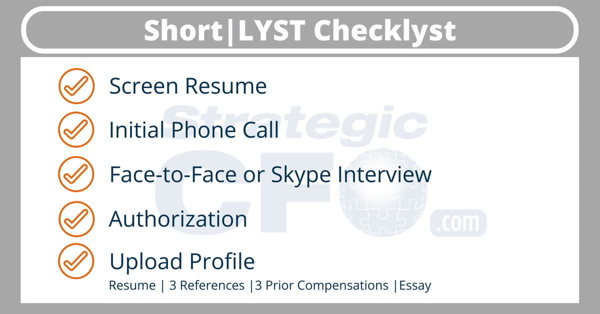 Short|LYST for Candidates